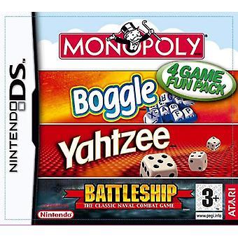 Hasbro Compilation MonopolyBoggleYahtzeeBattleships (Nintendo DS)