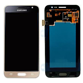Display LCD complete set GH97-18414 B gold for Samsung Galaxy J3 J320F 2016