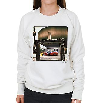 BMW Art Car Alexander Calder Women's Sweatshirt