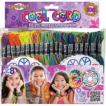 Cool Cord Friendship Bracelet Pack-Assorted Colors