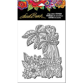 Stampendous Laurel Burch Cling Stamp 7.75