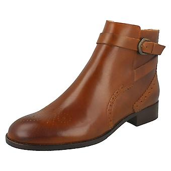 Ladies Clarks Smart Ankle Boots Netley Olivia
