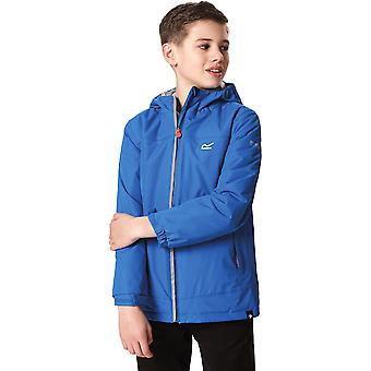 Regatta Boys Hurdle II Poly Insulated Hooded Waterproof Coat Jacket