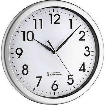 TFA 60.3519.02 Radio muur klok 30,8 x 4,3 cm zilver