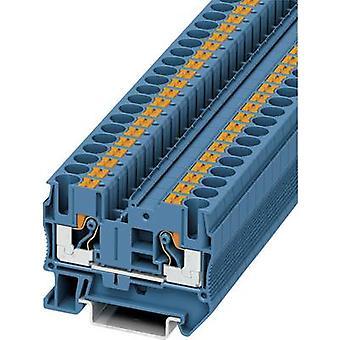 فينيكس الاتصال PT 6 بو 3211819 استمرارية عدد من دبابيس: 0.5 ملم ² 2 6 ملم ² 1 الأزرق pc(s)