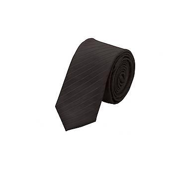 Krawat krawat krawat krawat 6cm czarny pasiasty Fabio Farini