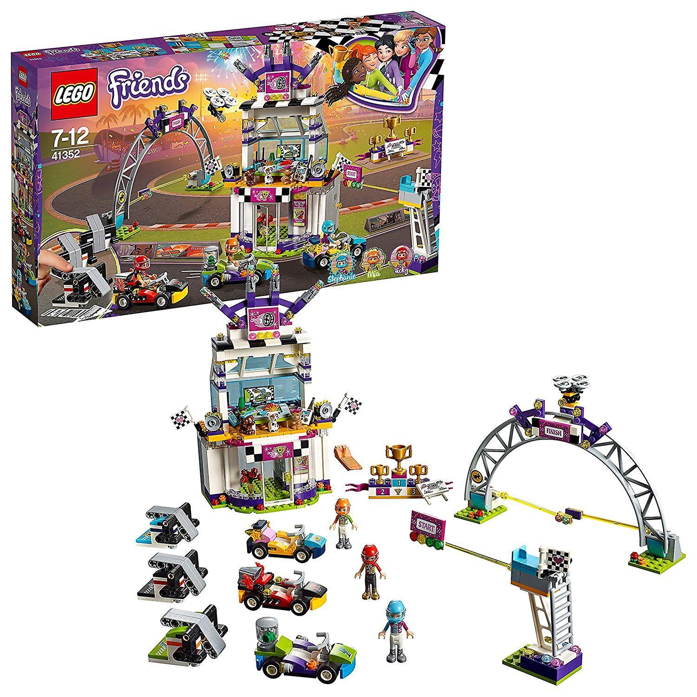 Amis de LEGO 41352 mis en Heartlake le jour de la grande course