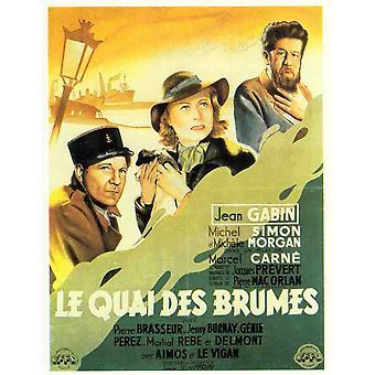 Quai Des Brumes Movie Poster (11 x 17)