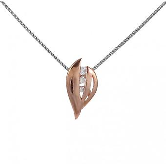 Cavendish French Golden Leaf Pendant without Chain