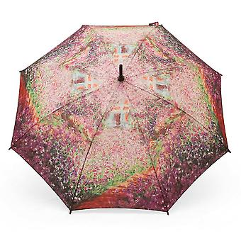 Umbrella stick umbrella motif Claude Monet summer garden