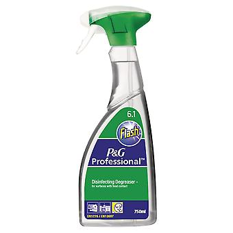 Flash Disinfecting Degreaser Spray 6.1