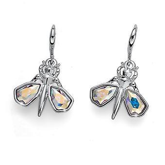 Oliver Weber Post Earring Voler Rhodium Crystal AB