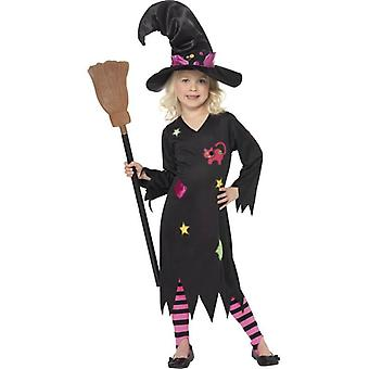 Cinder Witch Costume, Small Age 4-6