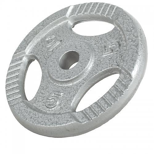 Poids disque avec poign�es de 5 Kg