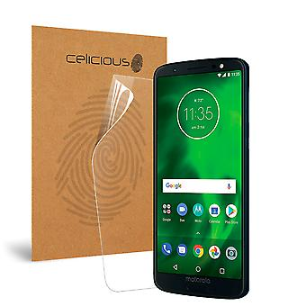 Celicious Impact Anti-Shock Shatterproof Screen Protector Film Compatible with Motorola Moto G6