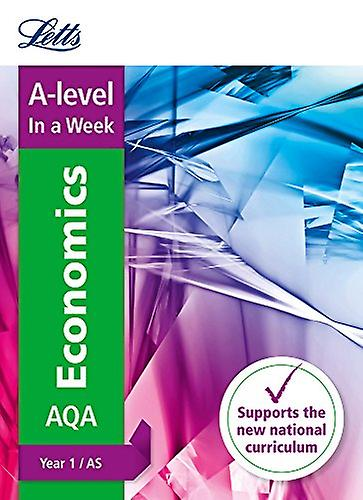 Letts A-level Revision Success - A-level Economics Year 1 (and AS) In