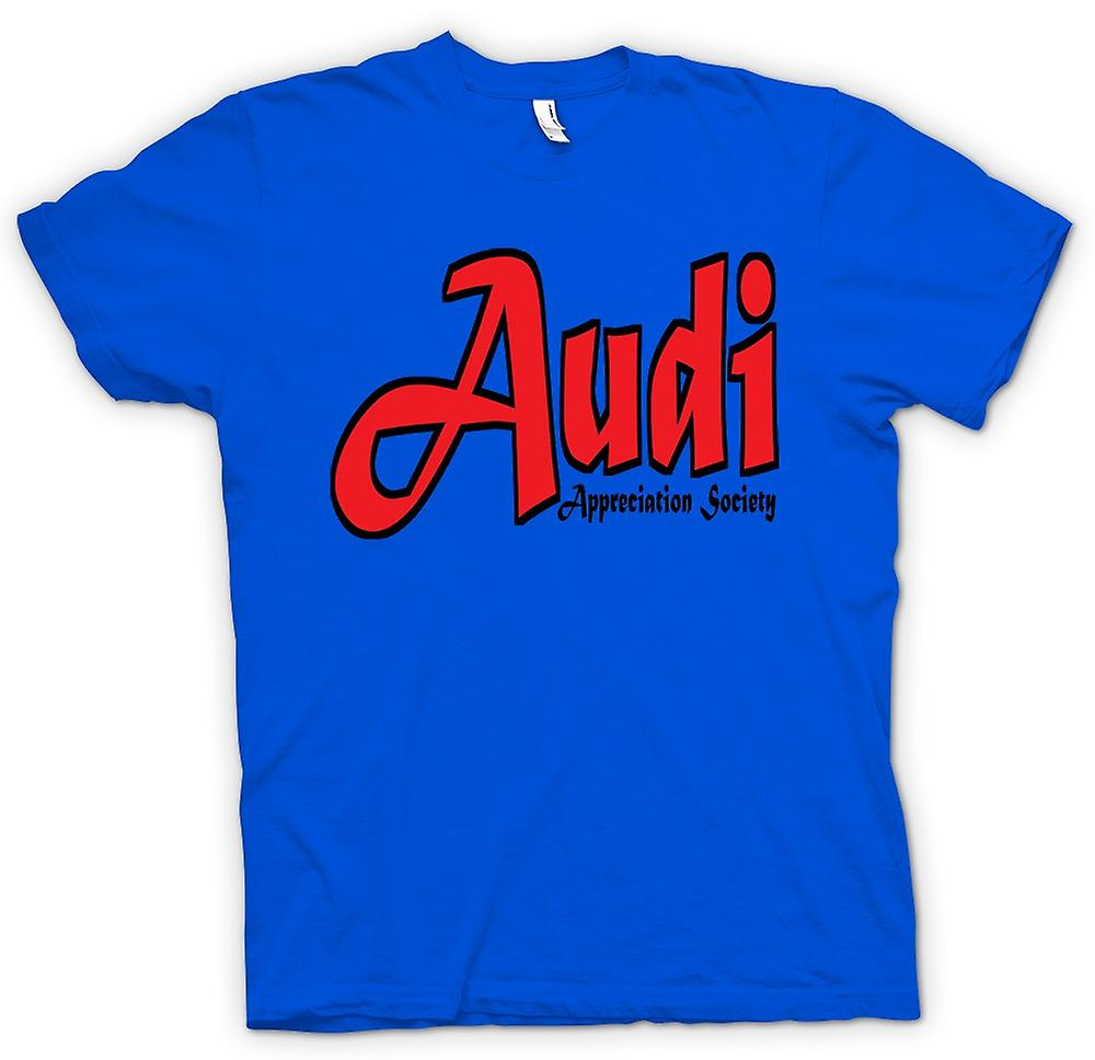 Mens t-shirt-Audi Appreciation Society