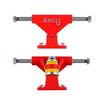 Penny Red Solid Series - 3 Inch Pair of Cruiser Trucks