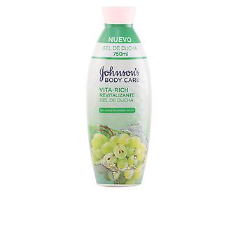 Johnson's Vita Rich Revitalizante Uvas Gel Ducha 750ml Unisex New