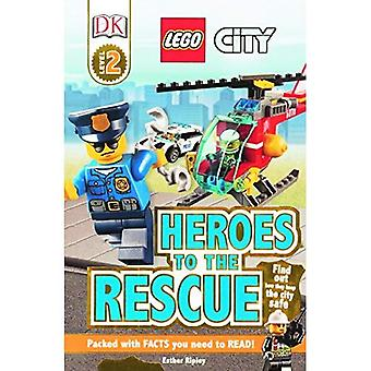 Lego City: Heroes to the Rescue (DK Readers: Level 2)