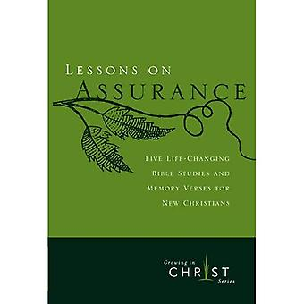 Lessons on Assurance (Growing in Christ)