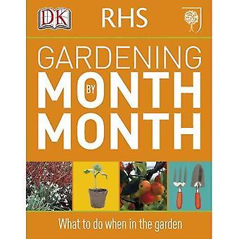 RHS trädgårdsskötsel månad för månad