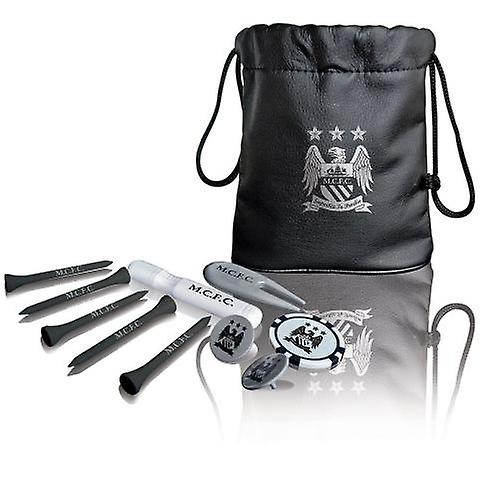 Manchester City Tote Bag Golf Gift Set