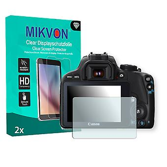 Canon EOS SL1 Screen Protector - Mikvon Clear (Retail Package with accessories)