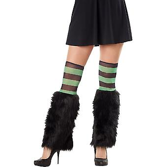 Kit Leg Furries Stripe Grn/Blk