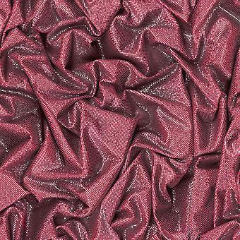3D Tapety nowoczesne zgnieciony brokatem satyna luksusowy efekt czerwony czarny biały Muriva