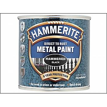 DIRECT TO RUST HAMMERED FINISH BLACK 250ML