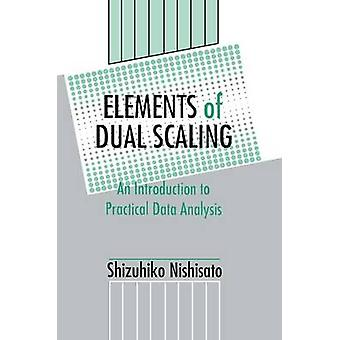 Delar av dubbla skalning en introduktion till praktiska dataanalys av Nishisato & Shizuhiko