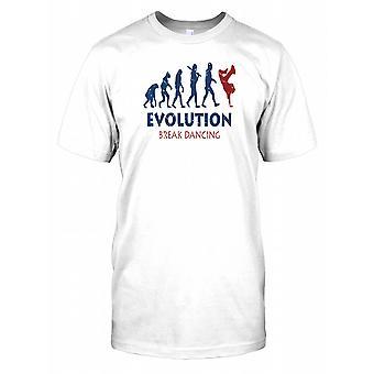 Evolution of Break Dancing Mens T Shirt