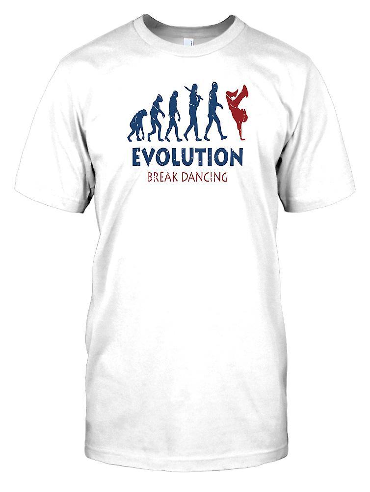 Evolution of Break Dancing Kids T Shirt
