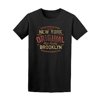 New York Brooklyn Sporting Tee mäns-bild av Shutterstock