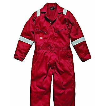 Dickies Mens Hi-Vis Stripe Workwear Coverall (Pack of 2)