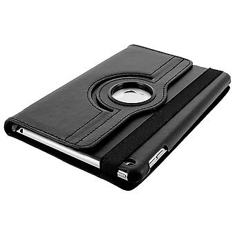360° rotary standing case, shock absorbing cover iPad Mini 4 / mini 2019 - Black