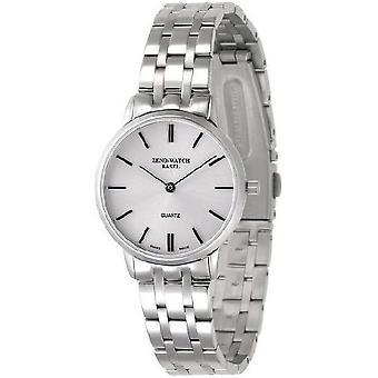 Zeno-watch ladies watch flatline 2 gray 6641Q-c3M