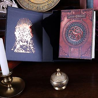 Game of Thrones Fire and Blood Small Journal