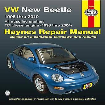 VW New Beetle Automotive Repair Manual - 1998-10 by Ken Freund - Quays