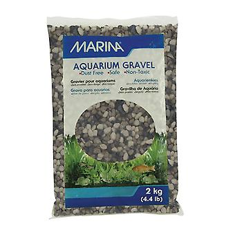 Marina Decorative Aquarium Gravel Grey Tone 2kg