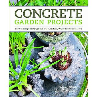 Concrete Garden Projects by Malin Nilsson