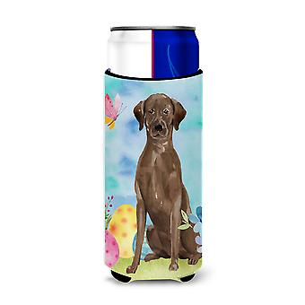 Chocolate Labrador Easter Michelob Ultra Hugger for slim cans