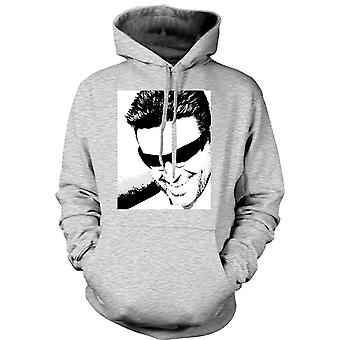 Herre Hoodie - George Michael - Pop Art - portræt