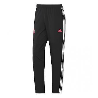 2019-2020 Juventus Adidas geweven broek (zwart)-Kids