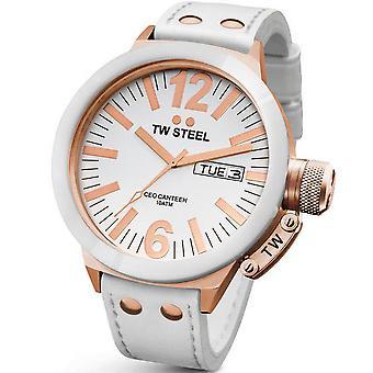 Montre TW STEEL CEO Rose or céramique 50 MM Mens Watch CE1036