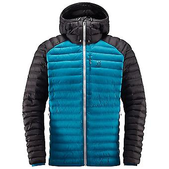 Haglofs Mosaik Blau mütterelt Mens Mimic Hooded Jacket