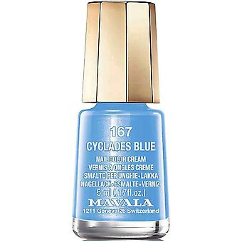 Mavala Mini Nail Color Creme Nail Polish - Cyclades Blue (167) 5ml