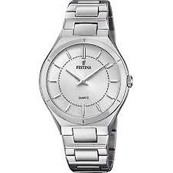 Festina Elegance Silver Stainless Steel Quartz Ladies Watch F20244/1