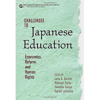 Challenges to Japanese Education: Economics, Reform, and Human Rights (International Perspec...